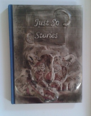 Just So Stories, Altered Book: Pewter Repousse
