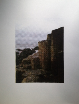 Giants Causeway Screenprint