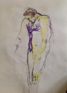 Man on crutches 2