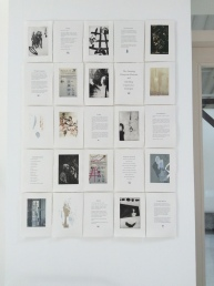 The Catalogue: photo etchings, 3D digital scans, drawings, woodcuts, text